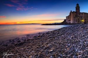 Tramonto_sunset_Camogli