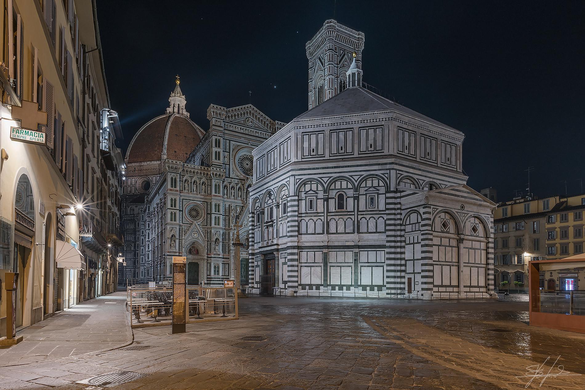 Mentre Firenze dorme...