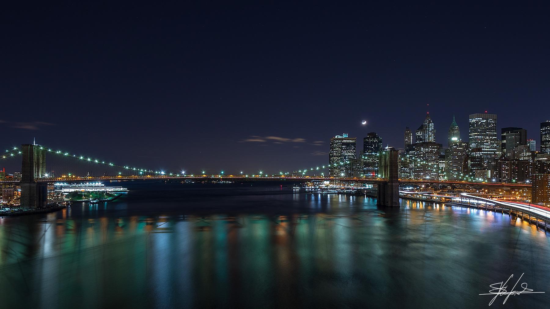 View from the Manhattan Bridge