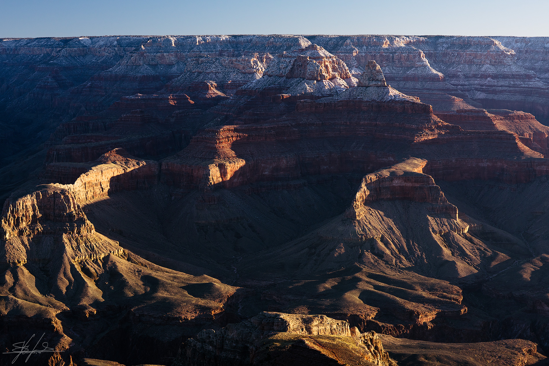 Lights & Shadows upon Gran Canyon