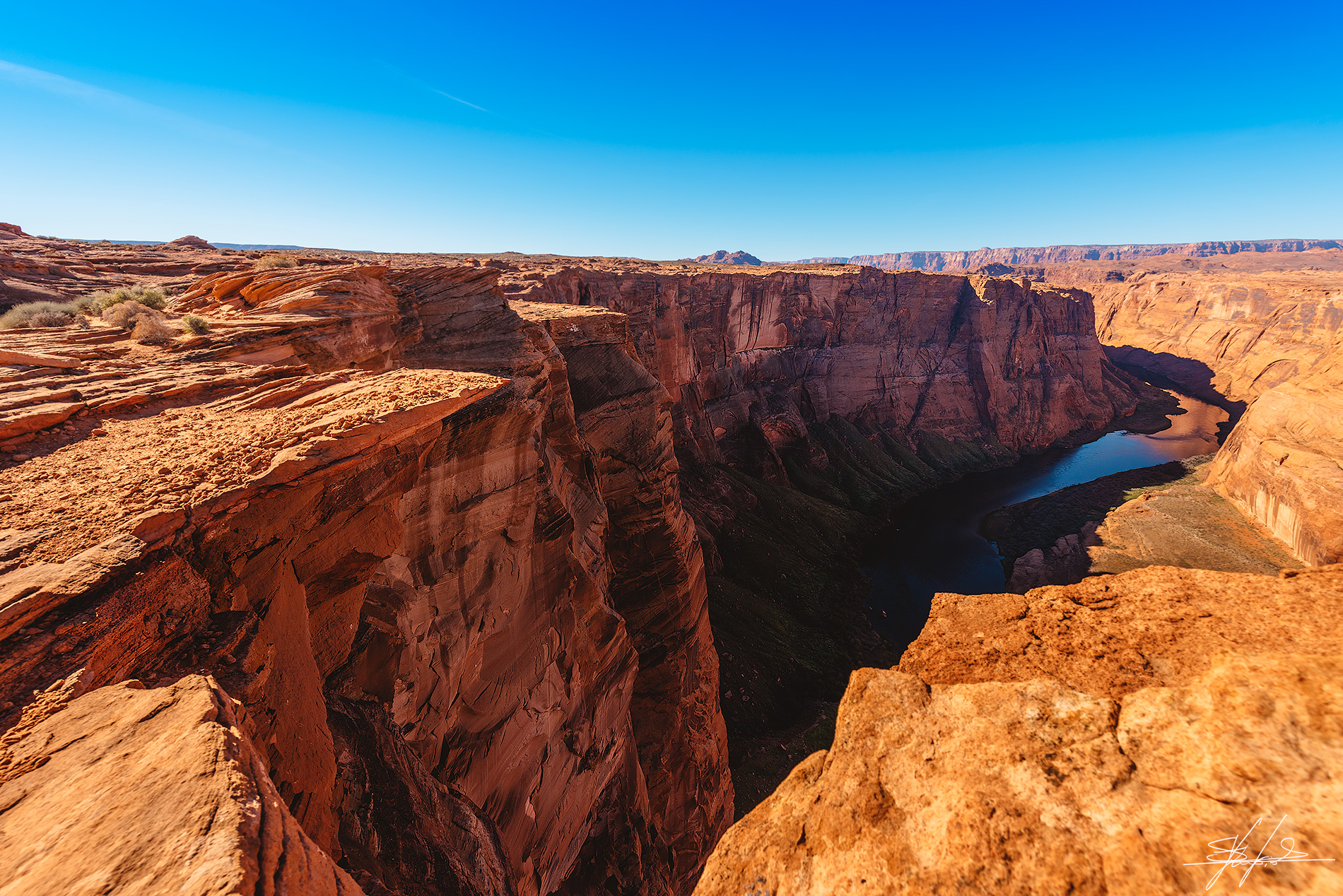 View from the Horseshoe Bend