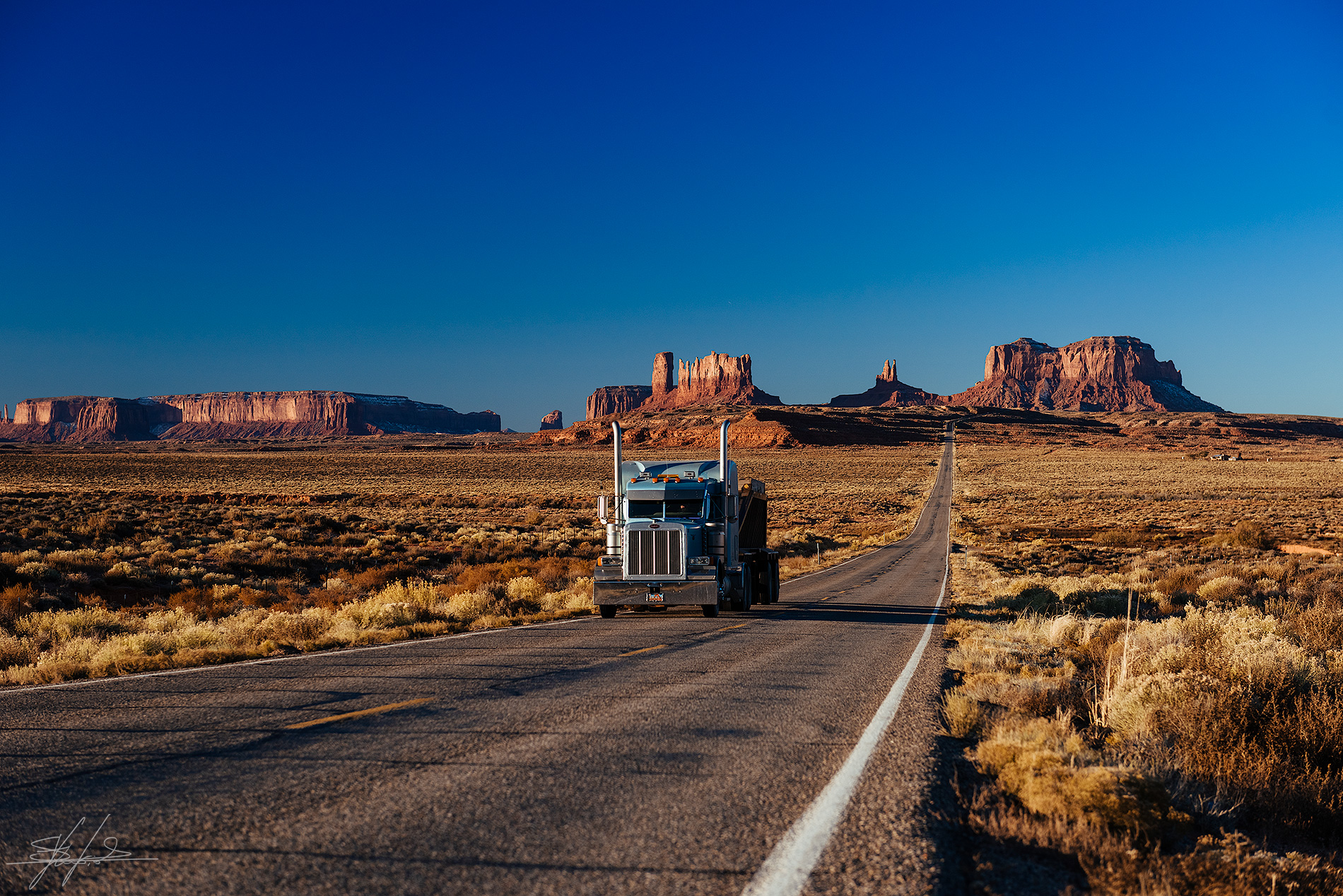 Postcard from the Monument Valley