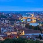 L'ora blu sull'Arno