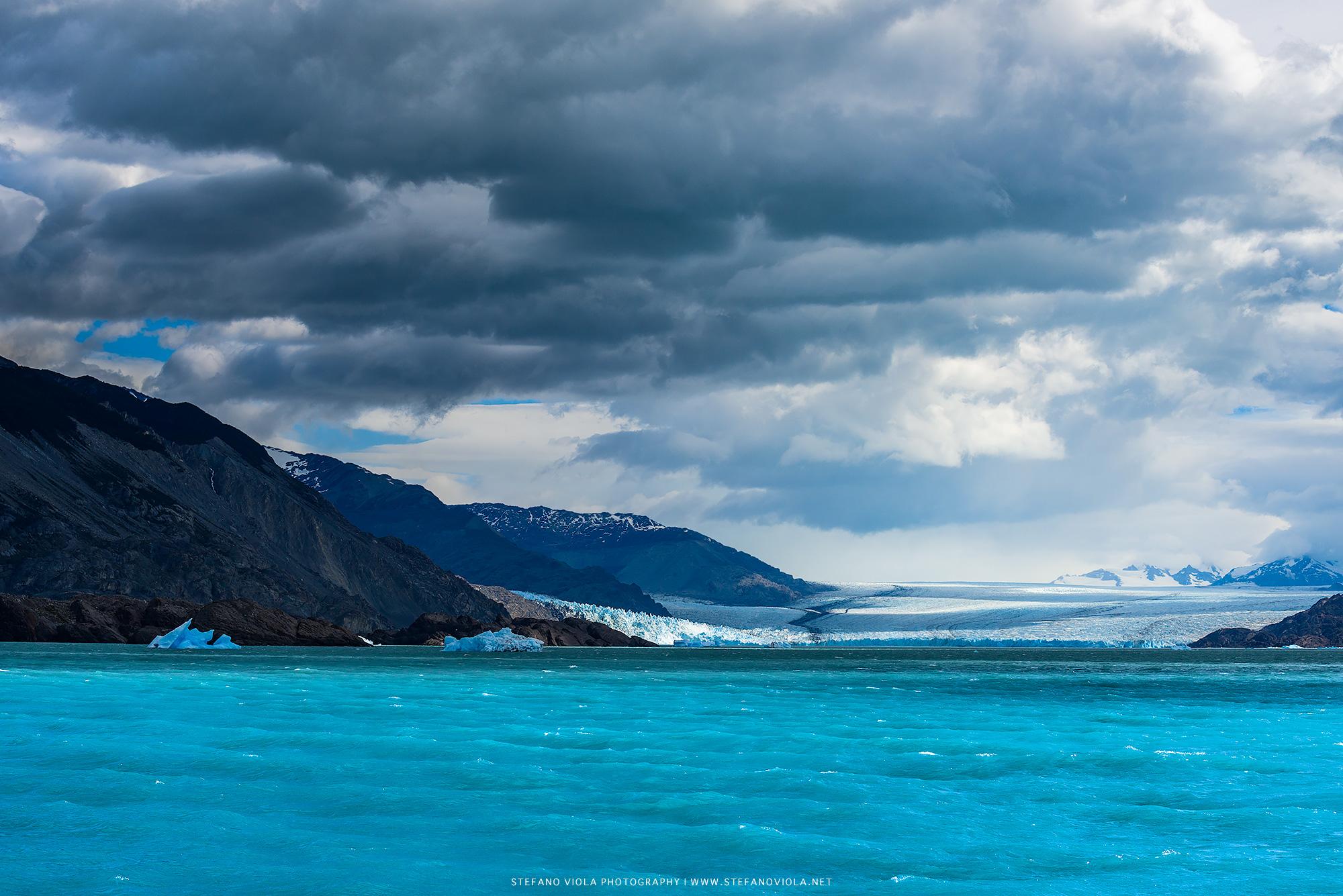 Upsala Glacier in Argentina