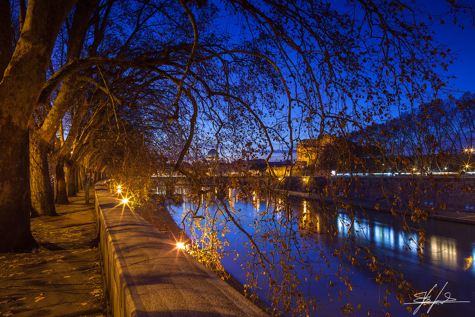 Roma - l'ora blu