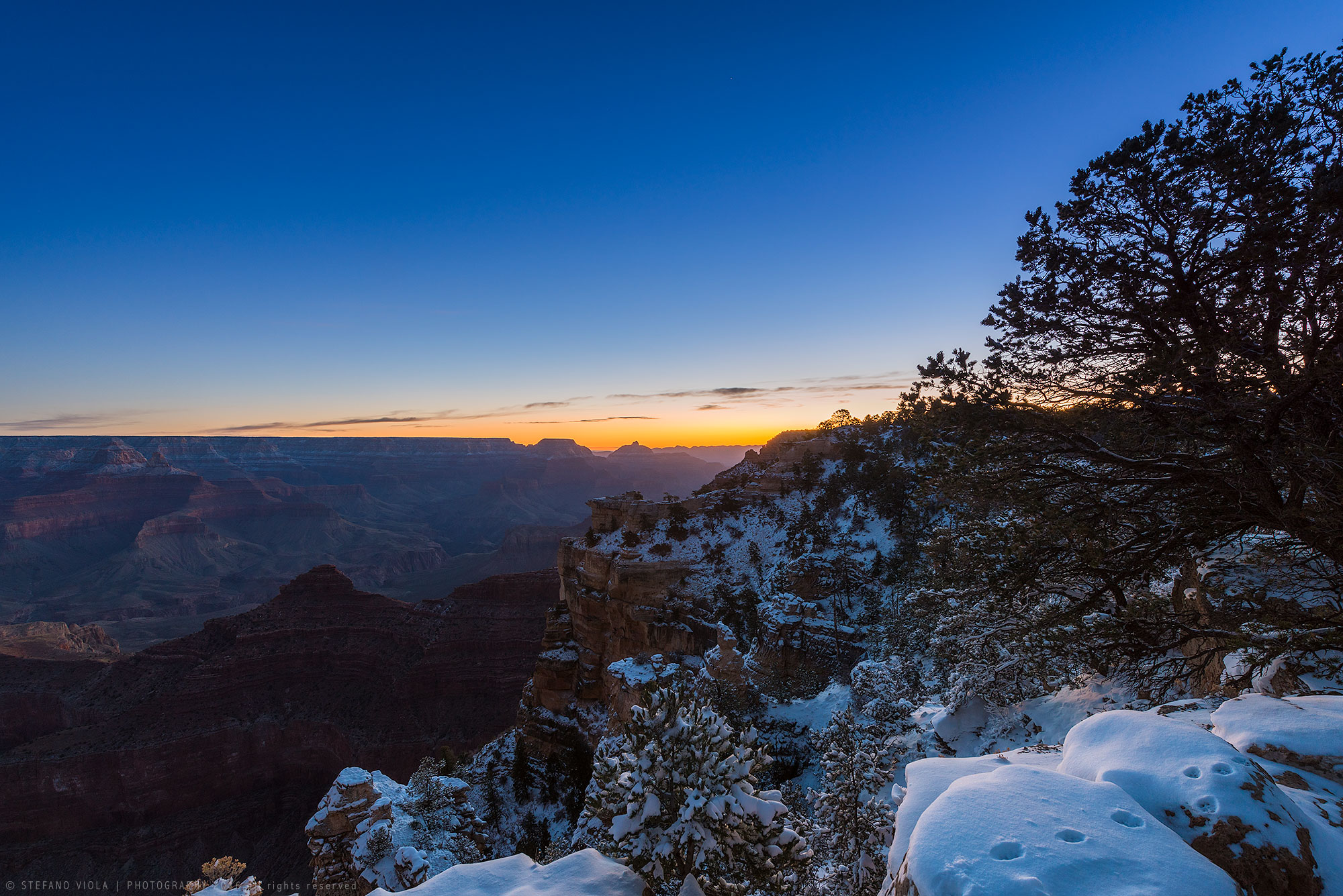 Sunrise at Grand Canyon