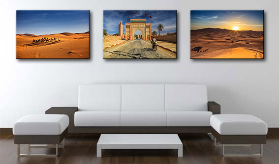 Morocco and desert prints