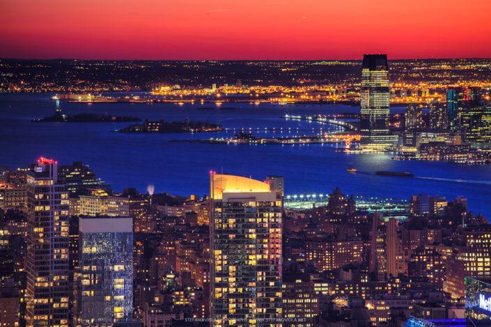 View of Liberty Island