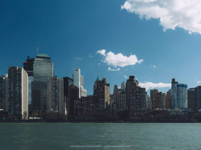 Building's view from Hudson river