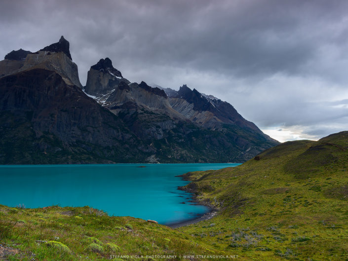 The Blue Lagoon at Torres del Paine