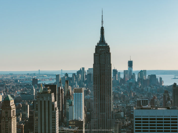 View of the Empire State Building