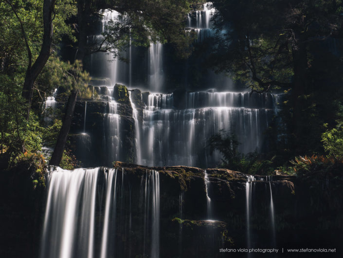 Russell Falls in Mt Field National Park - Tasmania