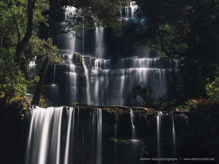 Russell Falls in Mt Field National Park - Tasmania